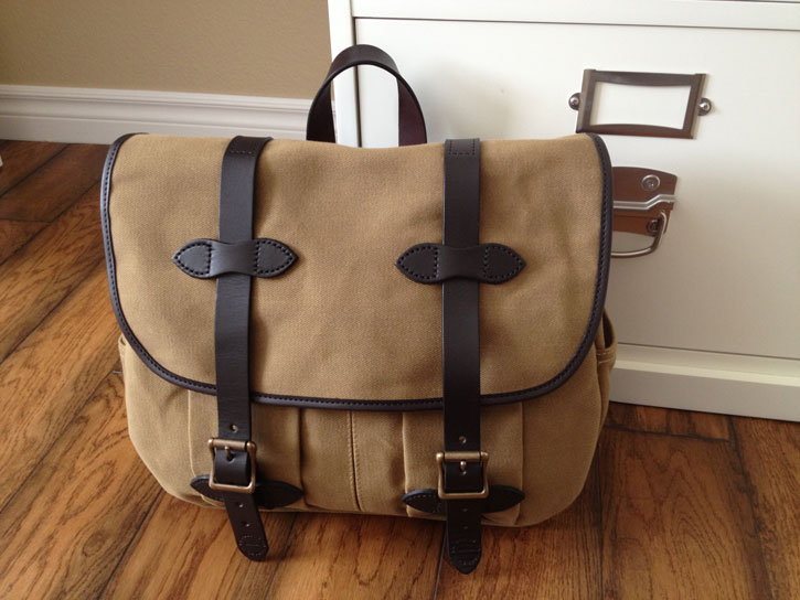 Filson reviews of Filson bags by CC Filson