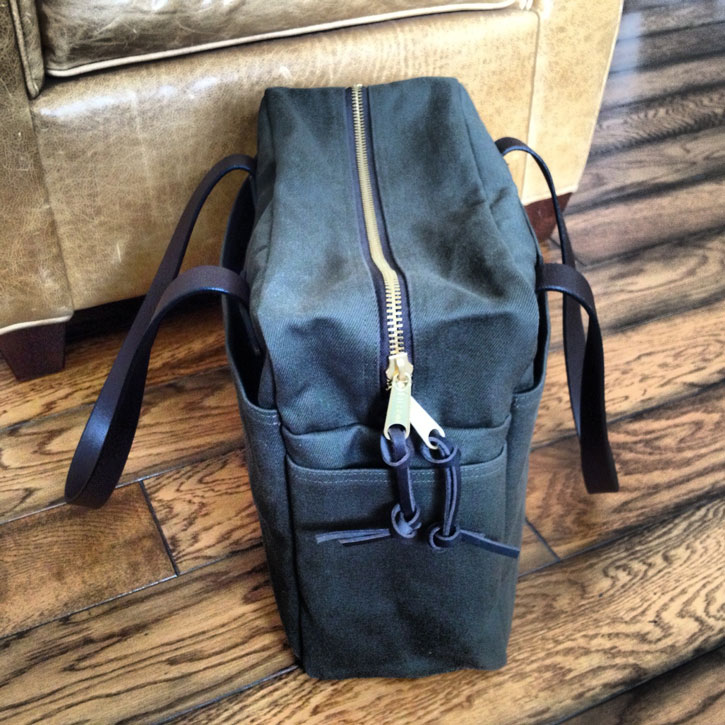First Look Filson Zippered Tote 261 The Filson Report